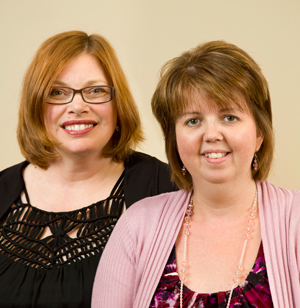 Tammy Greening and Sherry Kennedy