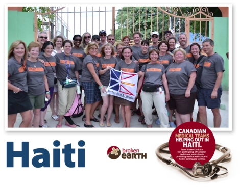 Team Broken Earth, Haiti