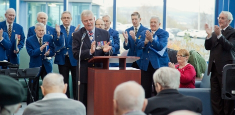 Remembering our Veterans: A Visit from a 'Soldier's Soldier'