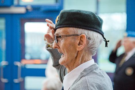 Veteran John Callahan