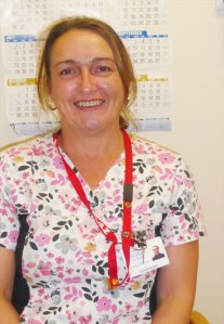 Corena Boland, LPN and preceptor at St. Patrick's Mercy Home