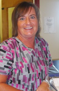 Wanda Duke, LPN and preceptor at St. Patrick's Mercy Home