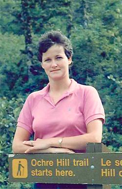 Camilla Tubrett, 1984.
