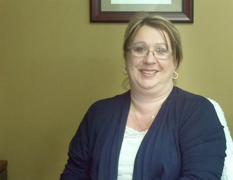Susan Hutchings, administrative assistant at Eastern Health.