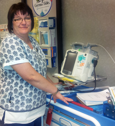Joanne Diamond , Intensive Unit Care nurse with Eastern Health.