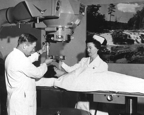 Radiation Oncology Treatment, St. John's, n.d., (photo credit: Dr. H. Bliss Murphy Cancer Care Foundation).