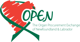 OPEN, Newfoundland and Labrador's Organ and Tissue Program
