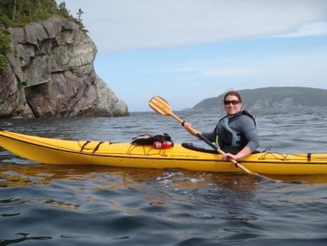Karen Spurvey, advanced care paramedic, enjoying the outdoors.