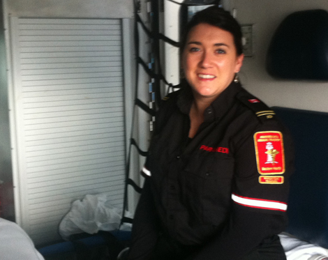 Karen Spurvey, advanced care paramedic, paramedicine and medical transport division with Eastern Health