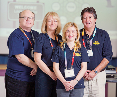 ASIST trainers at 2013 Workshop (l-r): Paul March, Cheryl Norris, Beverly Chard, Carl Roberts.