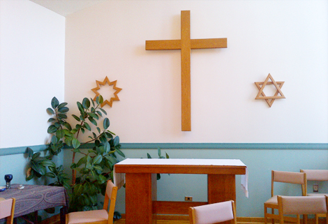 Chapel at the Waterford Hospital, St. John's.