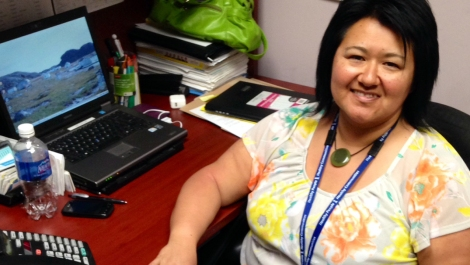 Katie Dicker, senior aboriginal patient navigator with Eastern Health.