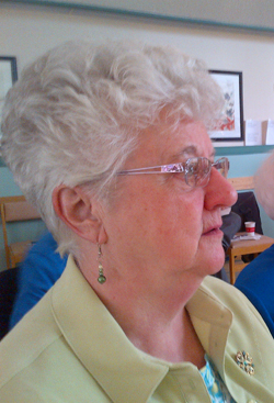 Sister Betty Morrissey at St. Clare's Mercy Hospital in St. John's, NL.