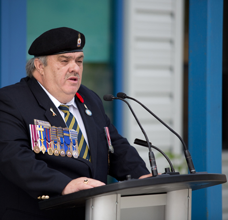 Ross Petten, President, Royal Canadian Legion, Provincial Command