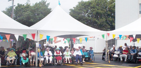 Third annual garden party at St. Patrick's Mercy Home, St. John's, NL.
