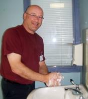 Brad Halliday, LPN, Dr. Leonard A. Miller Centre