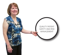 Michelle Ryan, Director of Quality, Safety and Risk Management