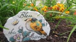 Myrtle's Garden, Bless this Garden