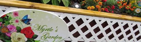 Myrtle's Garden … Providing Love, Peace and Joy