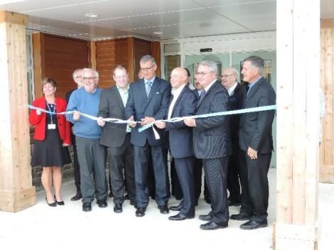 Official Grand Opening Ceremony and ribbon-cutting, September 24, 2014.