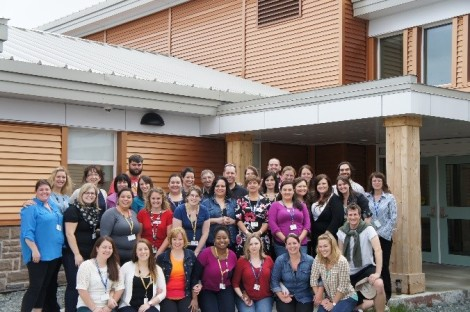 Youth treatment centre staff, September 12, 2014.