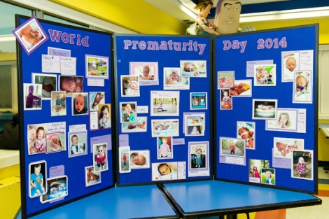 'Preemie' display at Janeway Hospital, World Prematurity Day, Nov. 17, 2014