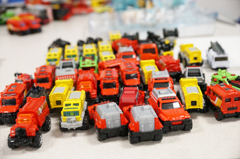 A Toy Story, toy cars for Therapy-to-Go