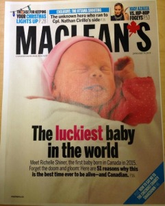 Maclean's Cover Girl
