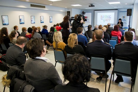 Official launch of Bridge the gAPP on January 29, 2015 at the Miller Centre in St. John's