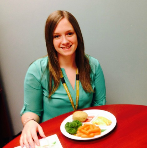 Heather, Dietetic Intern with Eastern Health