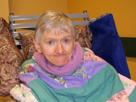 Joan Marie (Joanie) Pitcher, former patient of the Waterford Hospital
