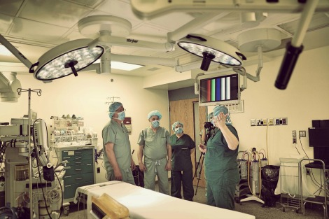 Touring the Operating Suites