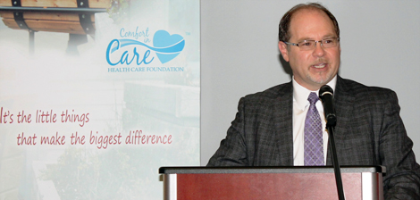 Paul Snow, President and CEO of the Health Care Foundation