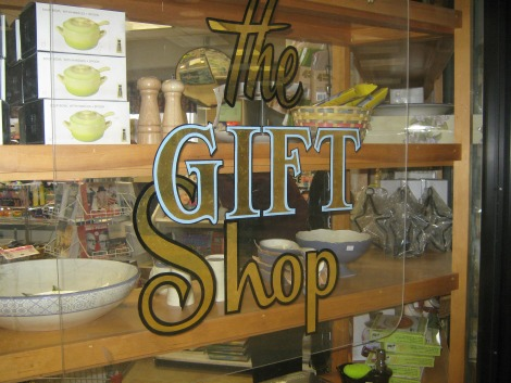 The Gift Shop at St. Clare's where Lesley volunteers
