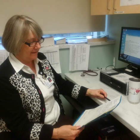 Dorothy Bragg, nurse practitioner, Emergency Department