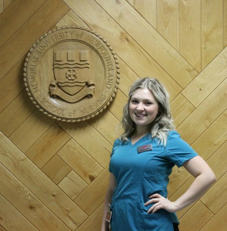 Jessica Conrod, Memorial University School of Nursing student
