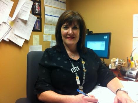 Pam Ryan, RN BN CCHN(C), public health nurse