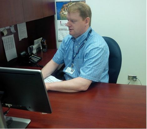 Fraser Fry, Manager of Biomedical Equipment Support at Eastern Health