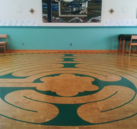 Labyrinth, Waterford Hospital