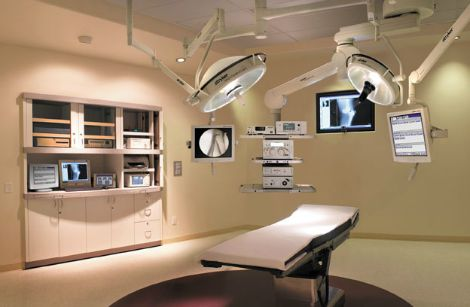 Visual of an integrated operating room