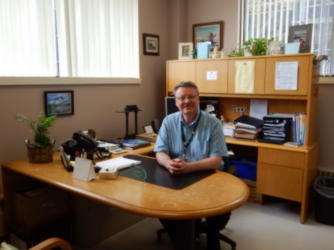 Bill Haynes, social worker at the Dr. H. Bliss Murphy Cancer Centre