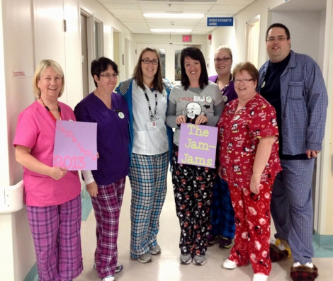 The Jam-Jams of the Burin Health Care Centre was crowned the top overall fundraising team for Jamarama in 2013 and 2014.