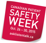 Canadian Patient Safety Week