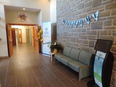 Tuckamore Centre entrance