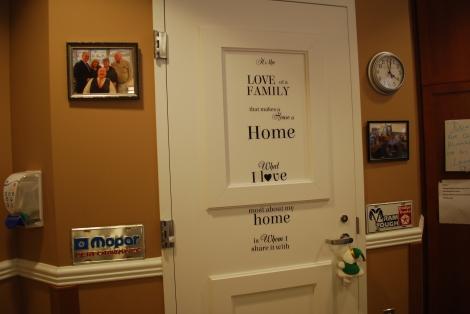 Austin's room