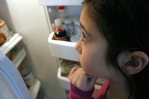 girl fridge
