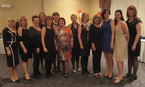 CNS faculty support BN students at the annual Charity Ball, April 2016
