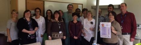 Code Stroke Team at the Dr. G. B. Cross Memorial Hospital in Clarenville