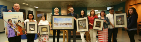 In celebration of National Aboriginal Day, on June 21, 2016 there was an unveiling of Aboriginal art supported by the Dr. H. Bliss Murphy Cancer Care Foundation. Eight pieces of artwork will represent all Aboriginal heritages in Newfoundland and Labrador.