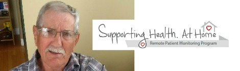 Supporting Health. At Home: Remote Patient Monitoring Program
